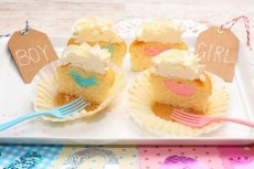 画像1: Gender Reveal Cupcakes Box(6個) (1)