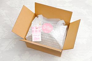 冷凍配送のパッケージ