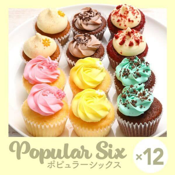 画像1: 【人気6種を詰め合わせ】ポピュラーシックス(12個) (1)