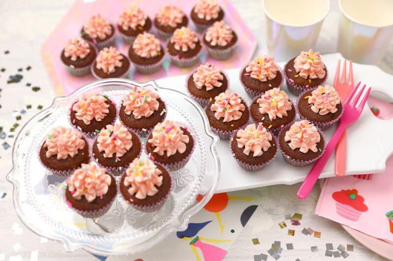 画像1: ピンクチョコ(Mini Cupcakes) (1)