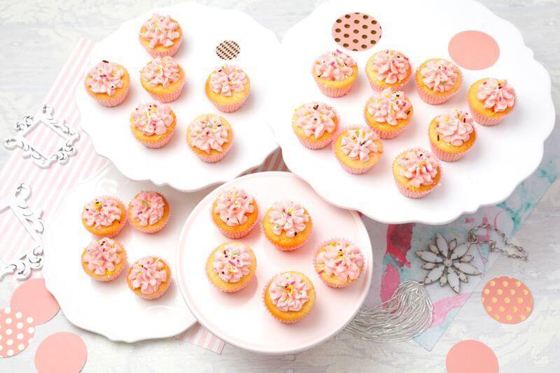 画像1: ピンクバニラ(Mini Cupcakes) (1)